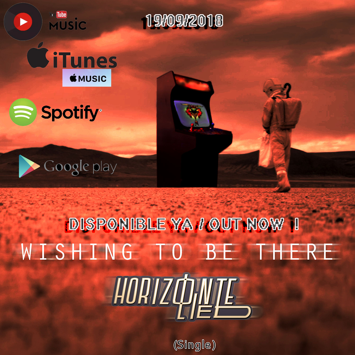 """Wishing to be there"" nuevo single lanzado y ahora disponible en todas partes!"